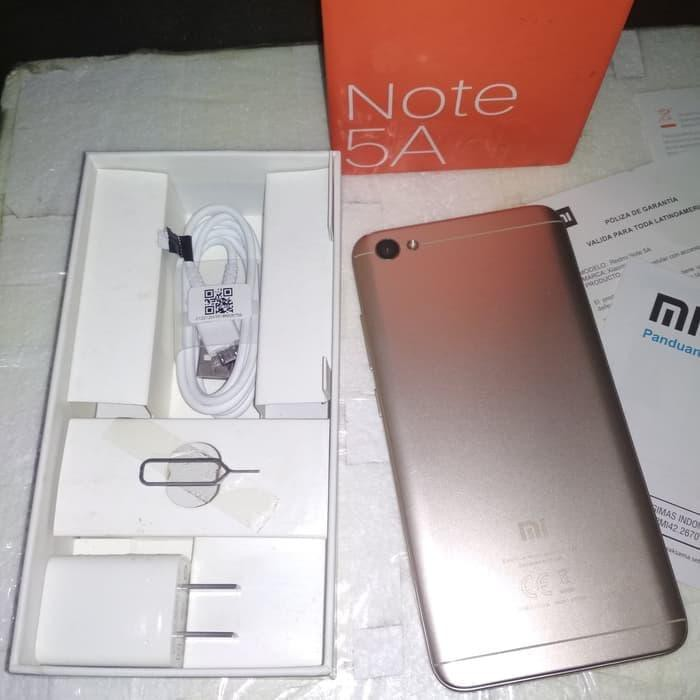 [Handphone Second] xiaomi note 5a 2/16 HP Bekas