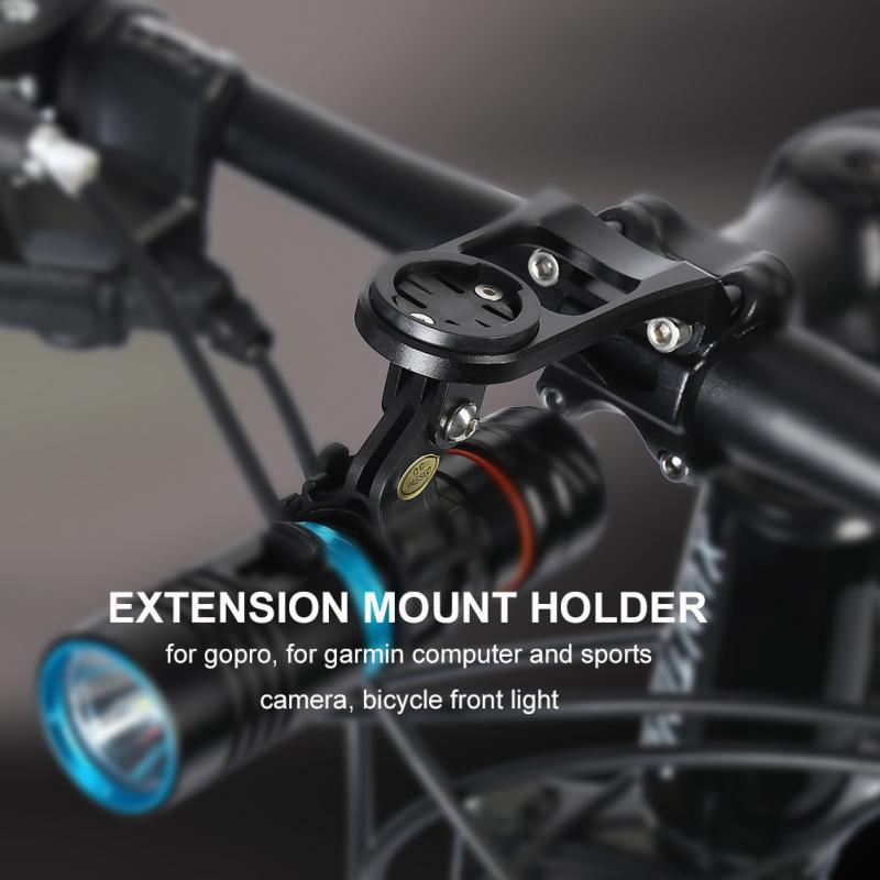 Aluminum Alloy Road Bike Stem Extension Computer Out Front Mount Holder Surprise