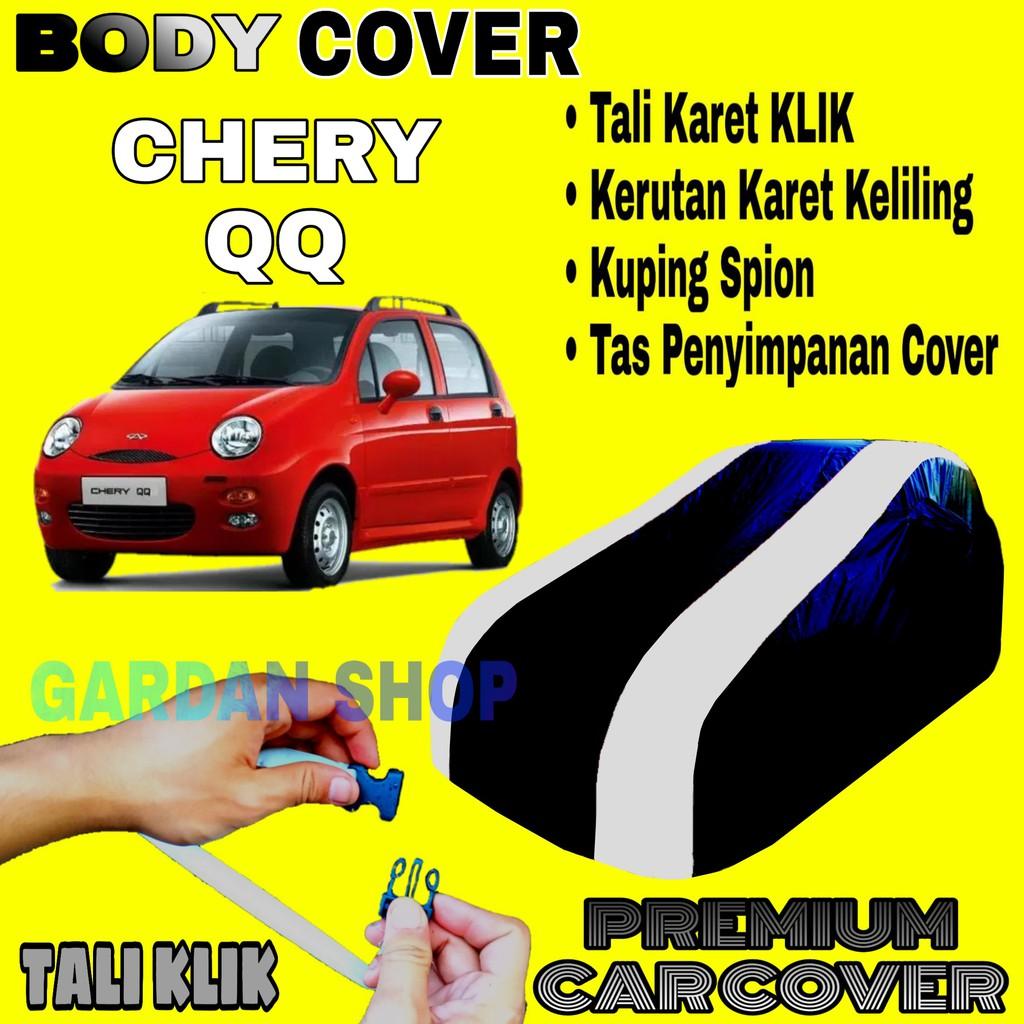 Body Cover Chery Qq Sarung Strip Silver Penutup Pelindung Bodi Mobil Cherry Qq Premium Cover Silver Shopee Indonesia