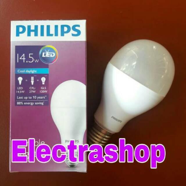 Lampu LED philips philip LED 16 watt putih 16w 16 w 14,5w 14,5 watt | Shopee Indonesia