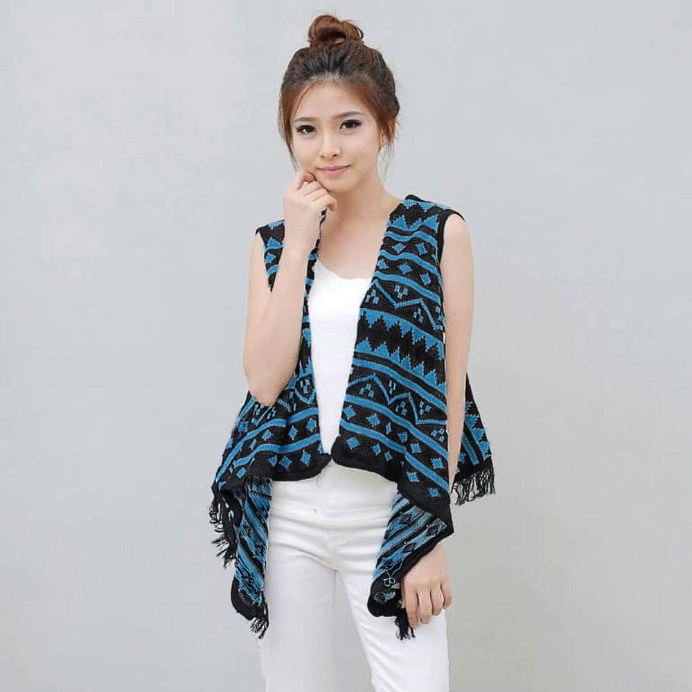 Terbaru Outer Kimono Kardigan Panjang Wanita Outerware Asymmetric Cardigan Jaket Jk435 Hijab Muslim Shopee Indonesia