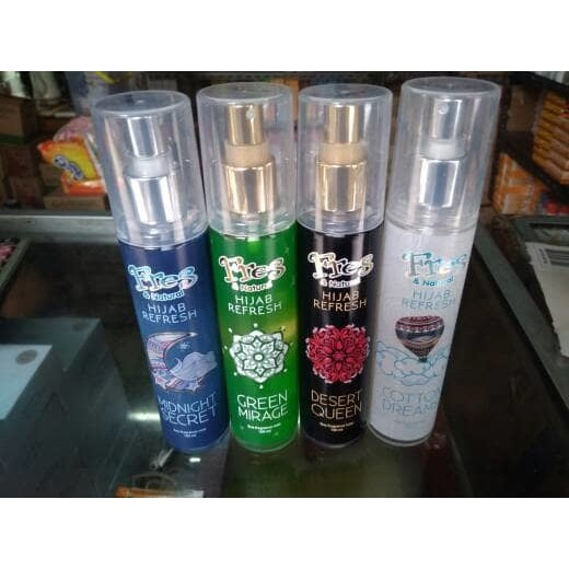 Promo Parfum Fres Natural Hijab Refresh Harga Distributor Shopee