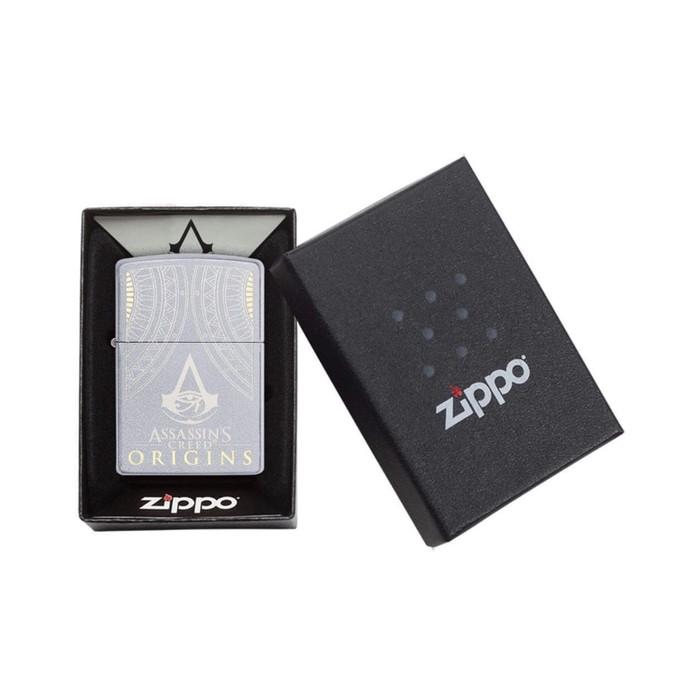 Zippo Lighter Mancis Korek Api Zippo Original Assassins Creed