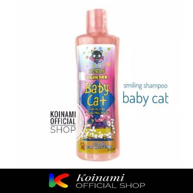 SMILLING FOR BABY CAT 200ml PINK / kitten shampo / anak kucing / RAID ALL