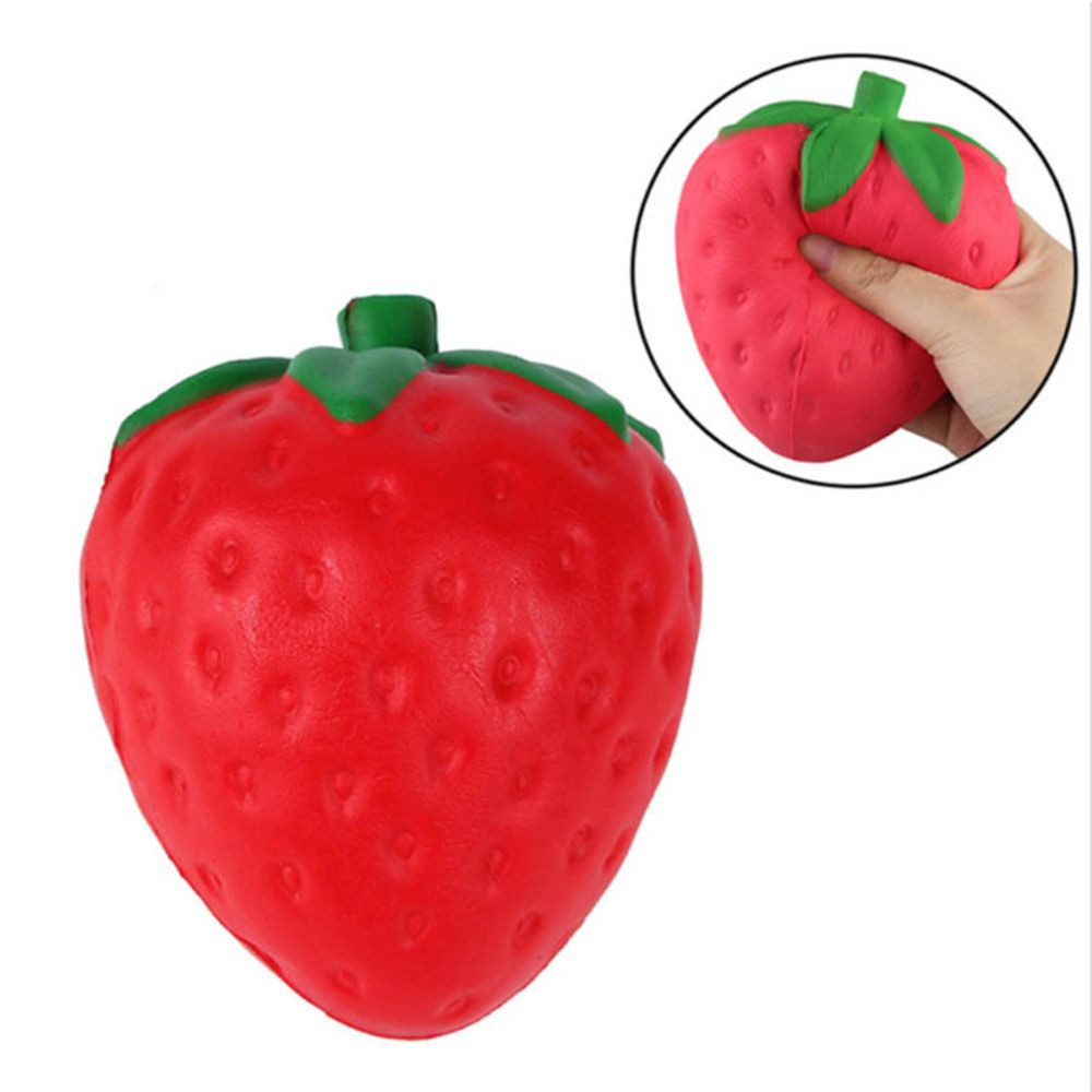 Squishy Slow Rising Penghilang Stress Model Strawberry