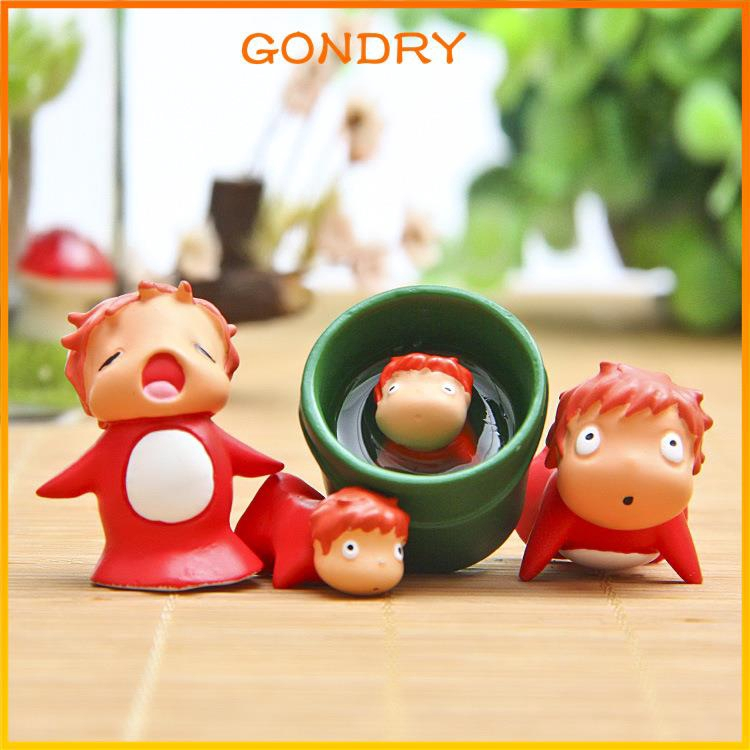 Action Figure Hayao Miyazaki Ponyo On The Clishes Diy Resin Multiple Shopee Indonesia