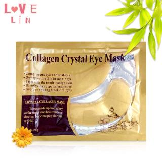 Lovelin 1PCS Gold collagen crystal eye mask to dilute fine lines and moisturize 6