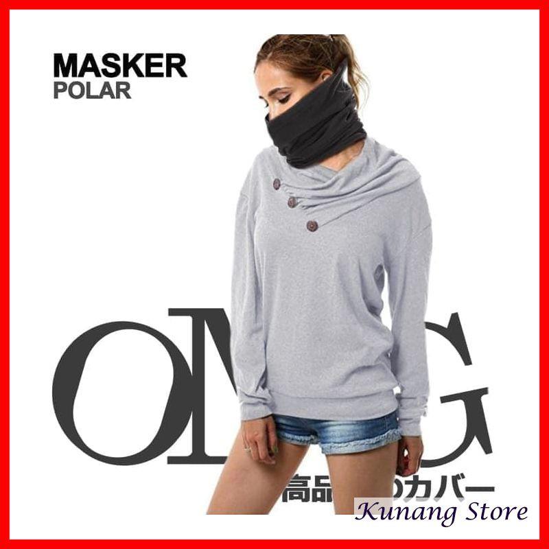 Kunang Store Masker Polar 3in1 OMG Topi Kupluk Mask Balaclava Bandana Slayer Baff Bahan Premium | Shopee Indonesia