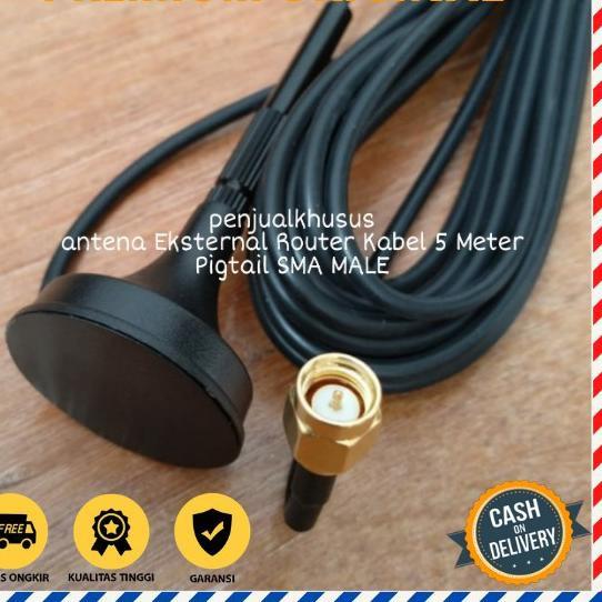 Recommended ⋆ Antena Modem Orbit Star Telkomsel Huawei B312 B311 Kabel 5M SMA MALE^