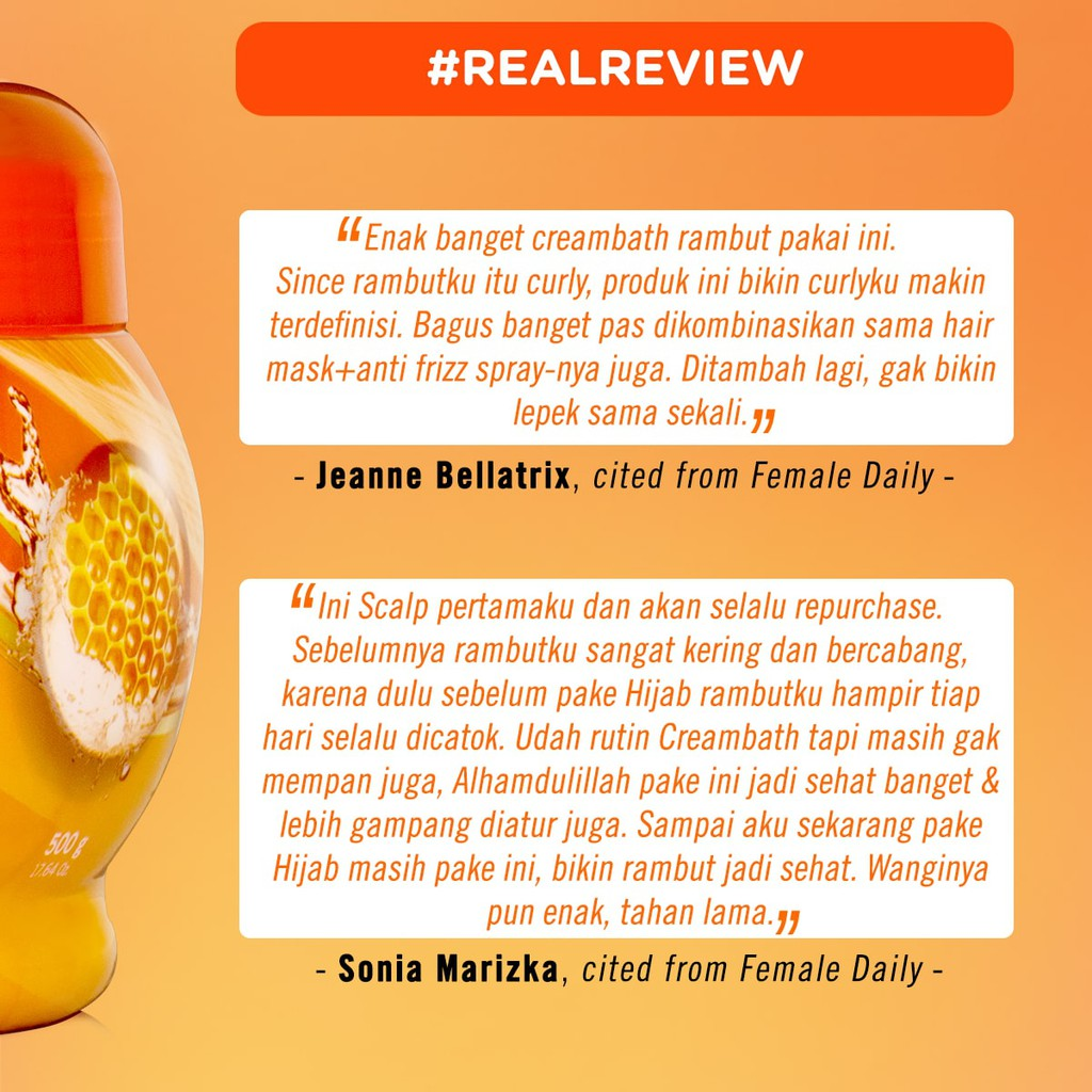 Makarizo Hair Energy Fibertherapy Hair Scalp Creambath Royal Jelly 60 Gr Perawatan Rambut Kering Shopee Indonesia