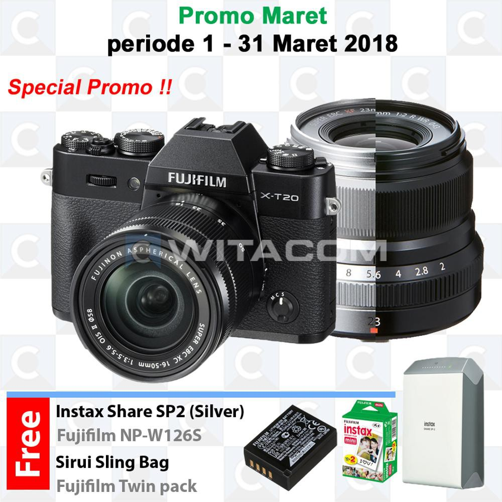 Fujifilm X Pro2 Xpro2 Kit Xf23mm F2 R Wr Graphite Edition Shopee Pwp X100f Garansi Indonesia 1tahun Cokelat