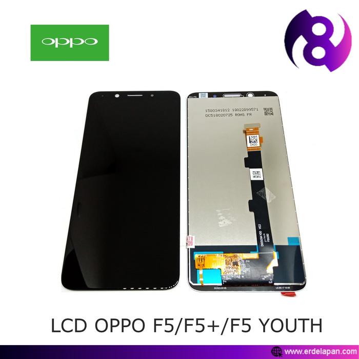 LCD TOUCHSCREEN OPPO F5/F5+/F5YOUTH - BLACK/WHITE - Hitam