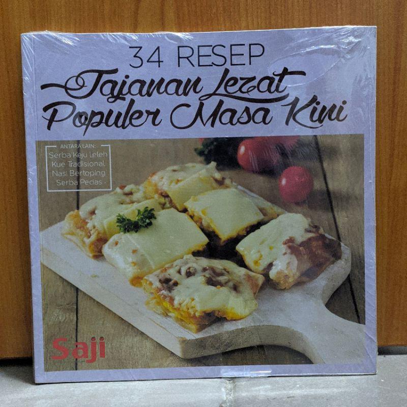 34 Resep Jajanan Lezat Populer Masa Kini Buku Resep Masakan Buku Resep Kue Buku Resep Murah Shopee Indonesia