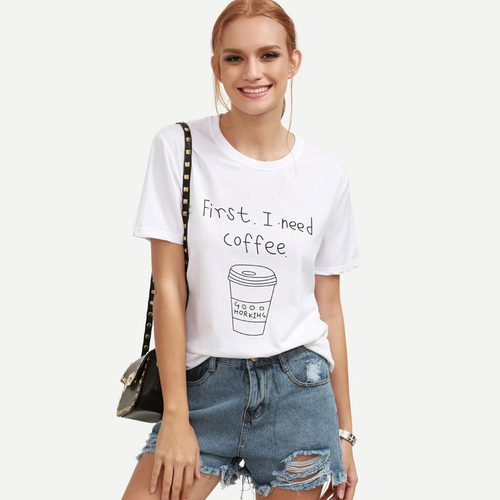 Fashion Wanita T Shirt Lengan Pendek Potongan Longgar Dengan Kerah Gudang Polw 17 Kaos Blue O