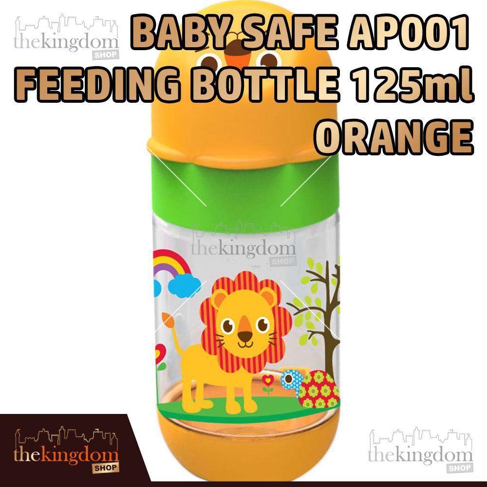Baby Safe AP001 Feeding Bottle 125ml Purple Botol Minum Anak Bayi Ungu   Shopee Indonesia