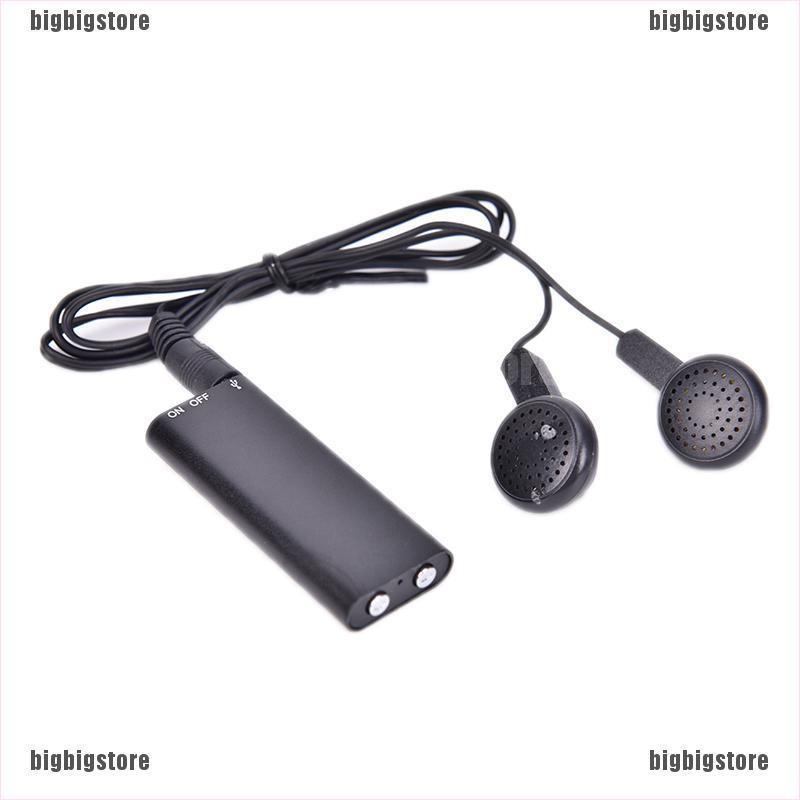 Listen Device Digital Voice Recorder Activated Long Recording Spy Hidden MP3 CO