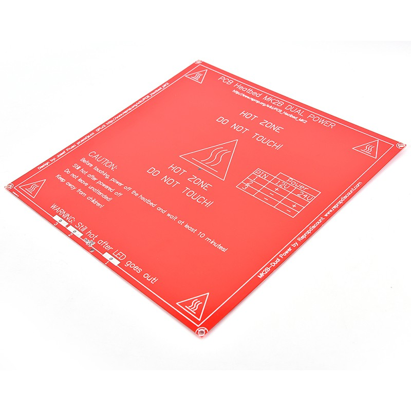Sunny 3d Printer Mk3 Aluminum Substrate Hot Bed Heating Bed 400*250*3mm Office Electronics 3d Printer Parts & Accessories