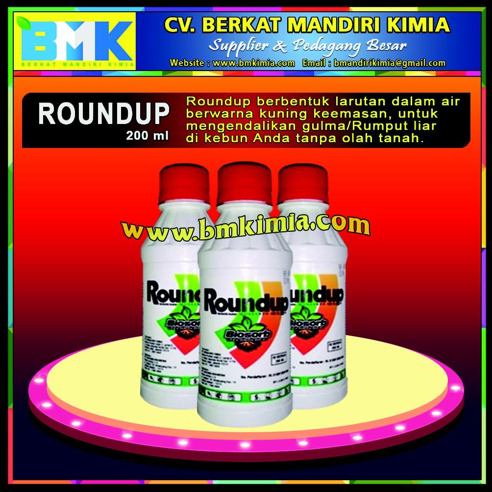 Herbisida Roundup 486 Sl 1liter Pembasmi Rumput Gulma Liar Shopee Indonesia