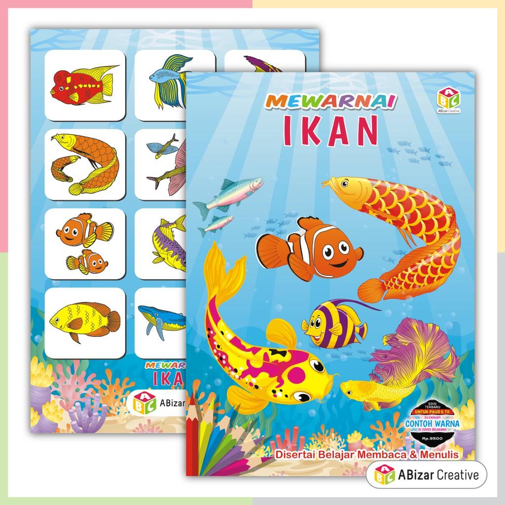 Beli Buku Mewarnai Anak Paud Dan Tk Ikan Seetracker Indonesia