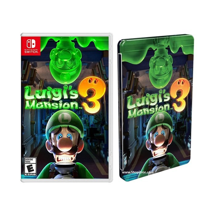 Nintendo Switch Luigi Mansion 3 With Steelcase Luigis Mansion 3 Shopee Indonesia