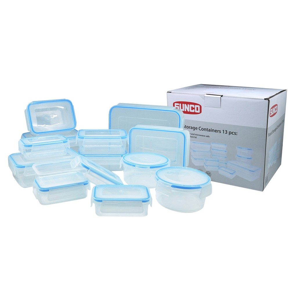 Lock Gift Set Plastic Food Container 4 Item With Color Box Locklock Classics 26l Hpl826 Hpt806as Shopee Indonesia