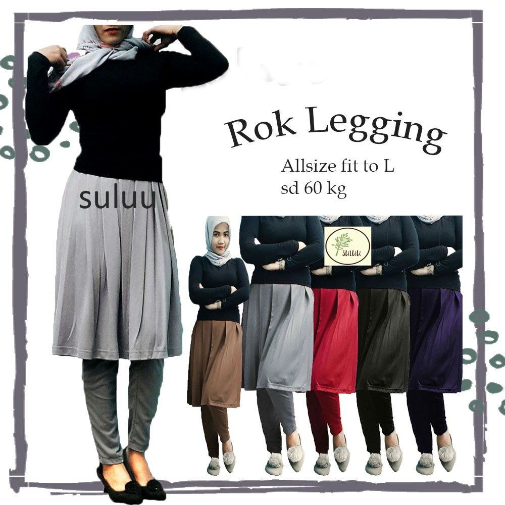 Rok Legging Murah Bawahan Wanita Free Daily Hijab Shopee Indonesia