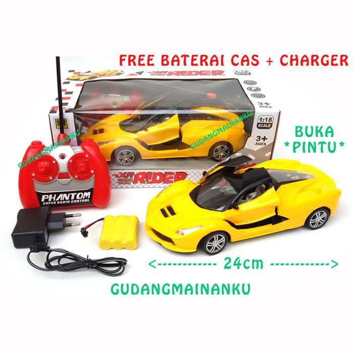 Harga Spesial Mobil Rc Remote Control Buka Pintu Ferrari Free Baterai Cas Charger Kuning Mk369 Shopee Indonesia