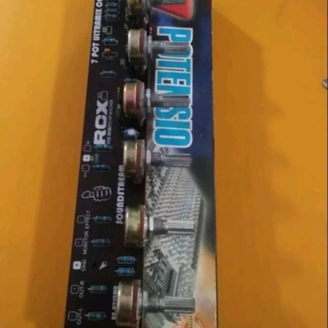 Audio Mixer 7 Potensio Audio Mixer Elite EL 031