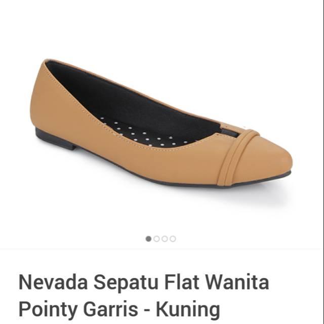 Nevada sepatu flat wanita  68b03a346a