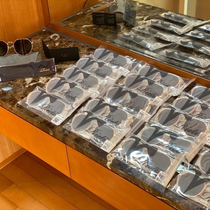 RIETI Zoe RT C4006 Sunglasses Original 100% Black