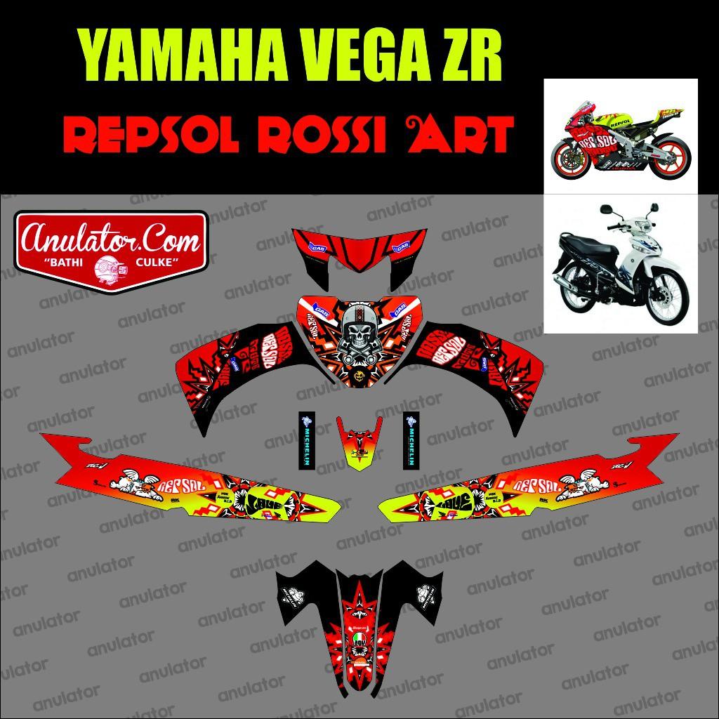 Decal Stiker Sticker Vega Zr Desain Keren Dan Racing Look V2 01 Revo Fit Raving Red Klaten Spec A Shopee Indonesia