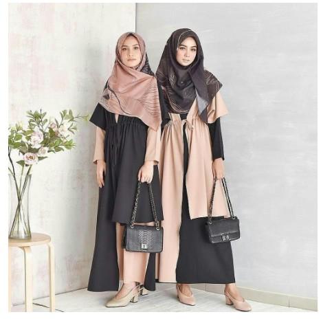 Baju Gamis Wanita Busana Muslim Muslimah Elin Set Murah Model Baju Baru Kekinian Masa Kini 2020 Shopee Indonesia