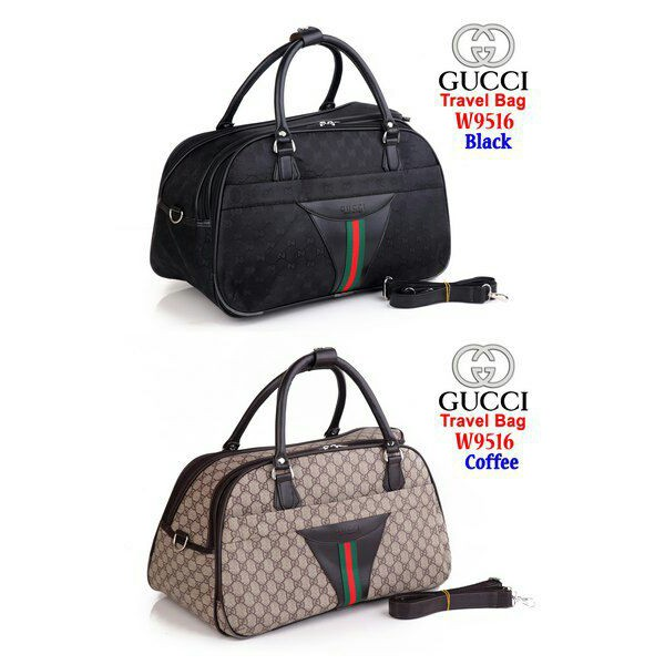 DD OS - Bag Travel Gucci W9516   TAS TRAVEL   KOPER MURAH  0a425cec0b