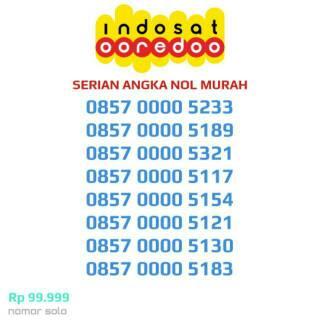 CANTIK MURAH!!! KWARTED NOL INDOSAT IM3 4G Ooredoo Kartu Perdana Nomor Cantik Nomer Nocan Murah