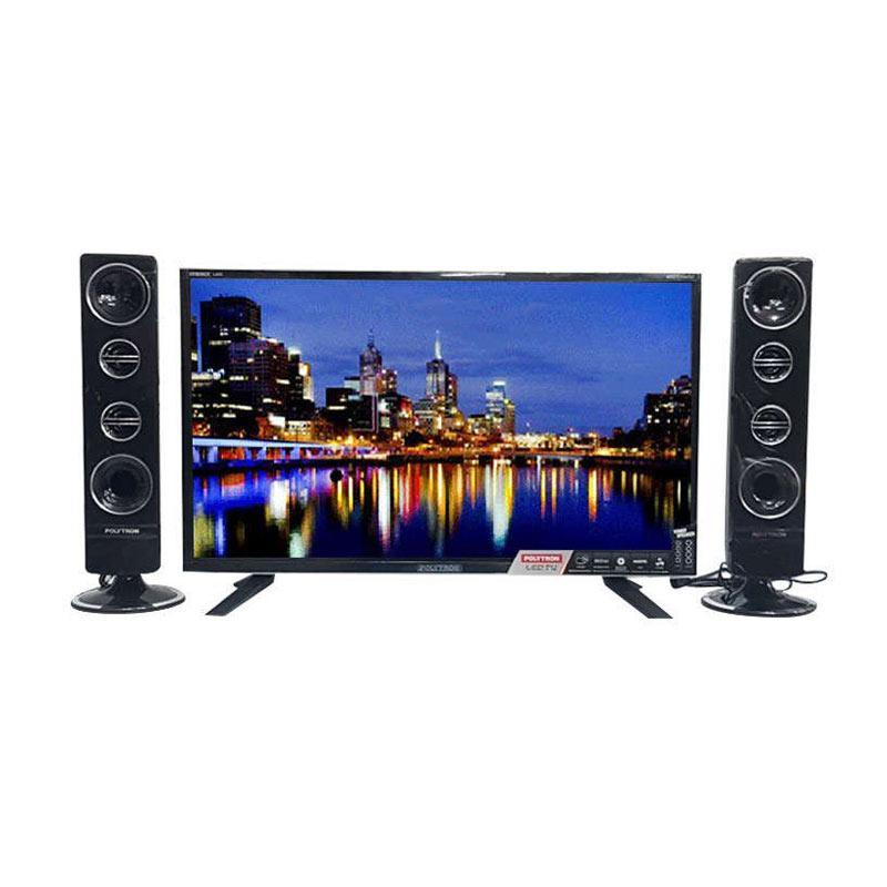 harga POLYTRON Cinemax LED TV with Tower Speaker 24 T 8511 /TY [24 Inch] Garansi Resmi 5 Tahun Shopee.co.id