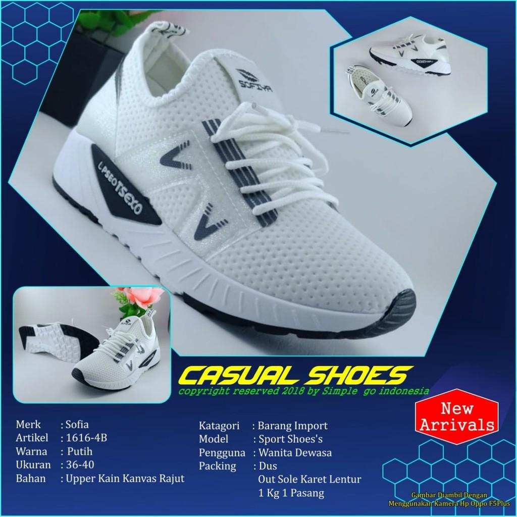 Sofiya Sepatu Wanita Running 1616 4b 36 40 Shopee Indonesia