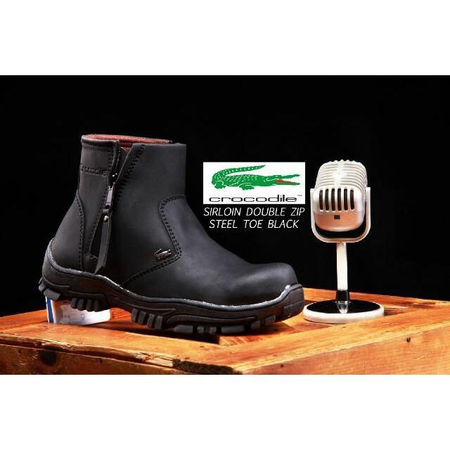 OBRAL Sepatu Boots Safety Pria Proyek Lapangan Crocodile Armour ... d92c6476b3