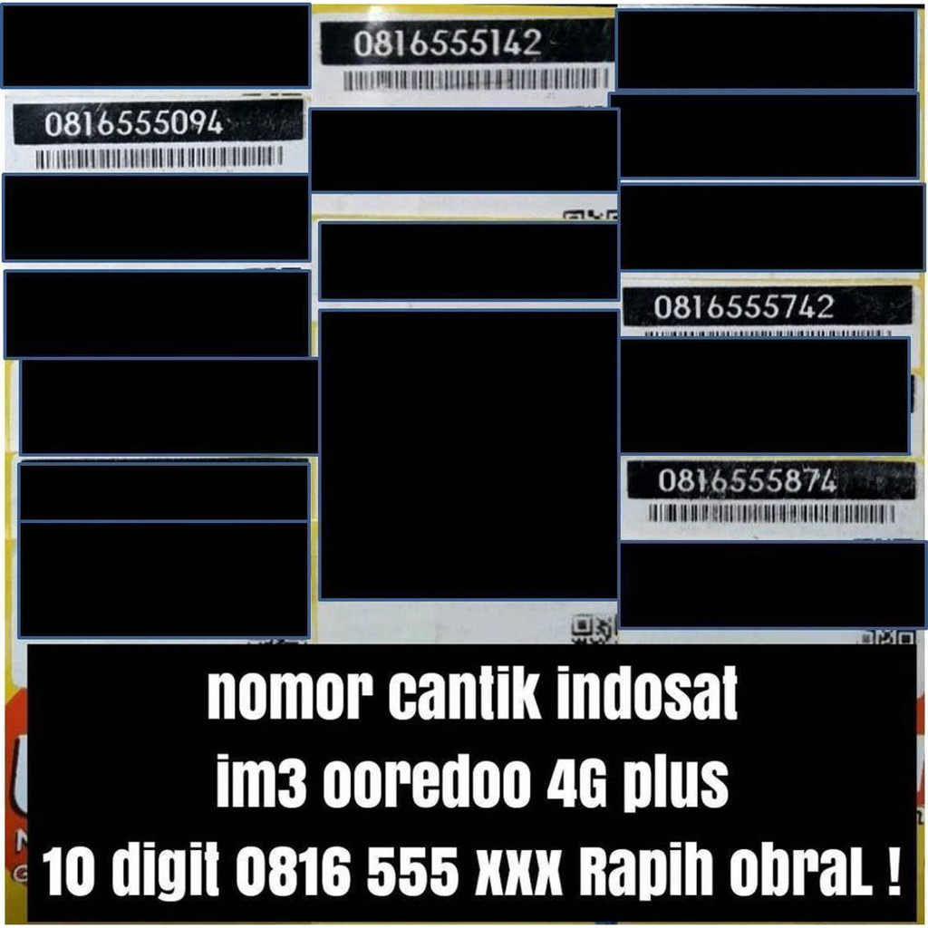 OBRAL SERI 0857 0857 Kartu Perdana Nomor Cantik Indosat Nomer Cantik Indosat 4G   Shopee Indonesia