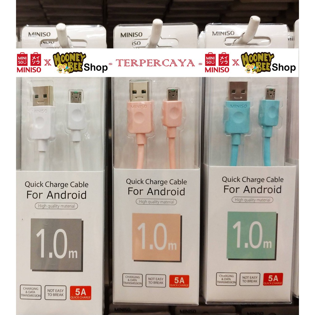 Miniso Kabel Data Iphone Shopee Indonesia Mcdodo Lightning Cable 18m Auto Disconnect Merah