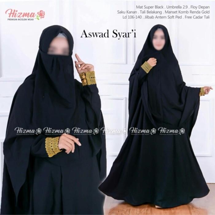 Gamis Hitam Temukan Harga Dan Penawaran Dress Muslim Online