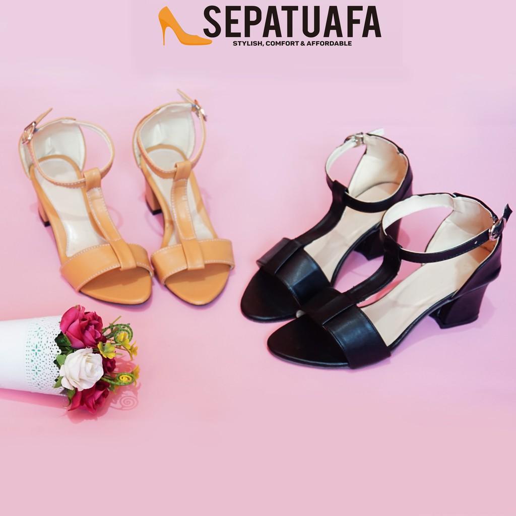 Nunulisatan 5 Warna Termurah High Heels Hak Pump Wanita 5cm Gelang Amazara Clarissa Black Suede Hitam 39 Shopee Indonesia