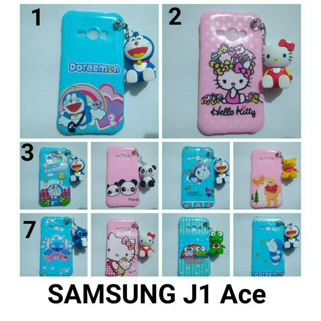 Samsung J1 Ace Case Gambar Plus Gantungan Shopee Indonesia