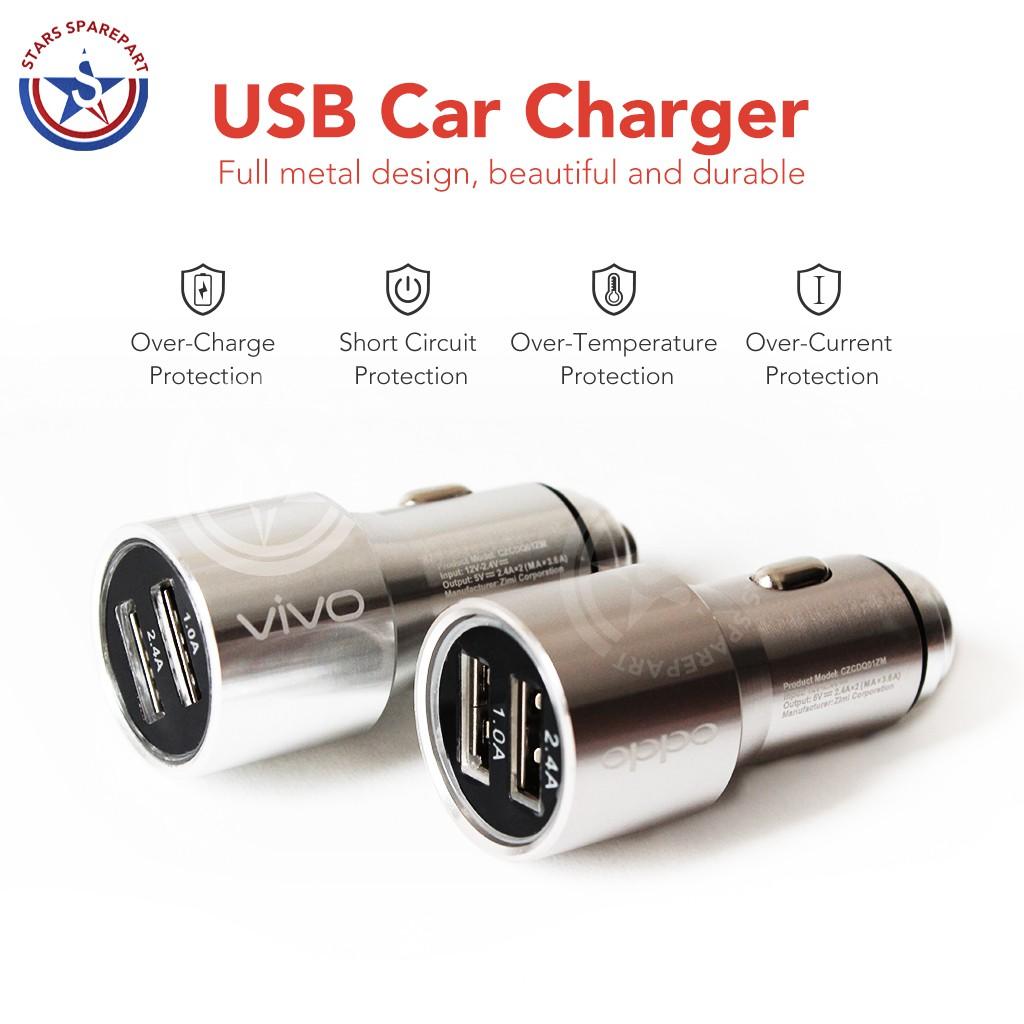 Up To 59 Discount Car Charger Ibestz Batok Saver 2 Usb Xiaomi Vivo Asus Oppo Samsung Output Mobil 5v 34a