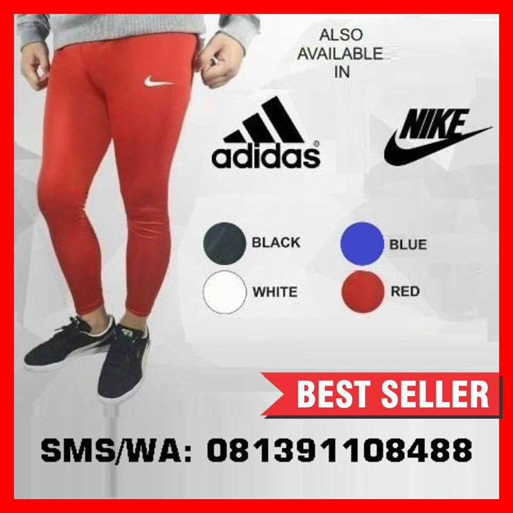 Celana Legging Baselayer Manset Nike Leging Olahraga Sepakbola Futsal Gym Panjang Shopee Indonesia