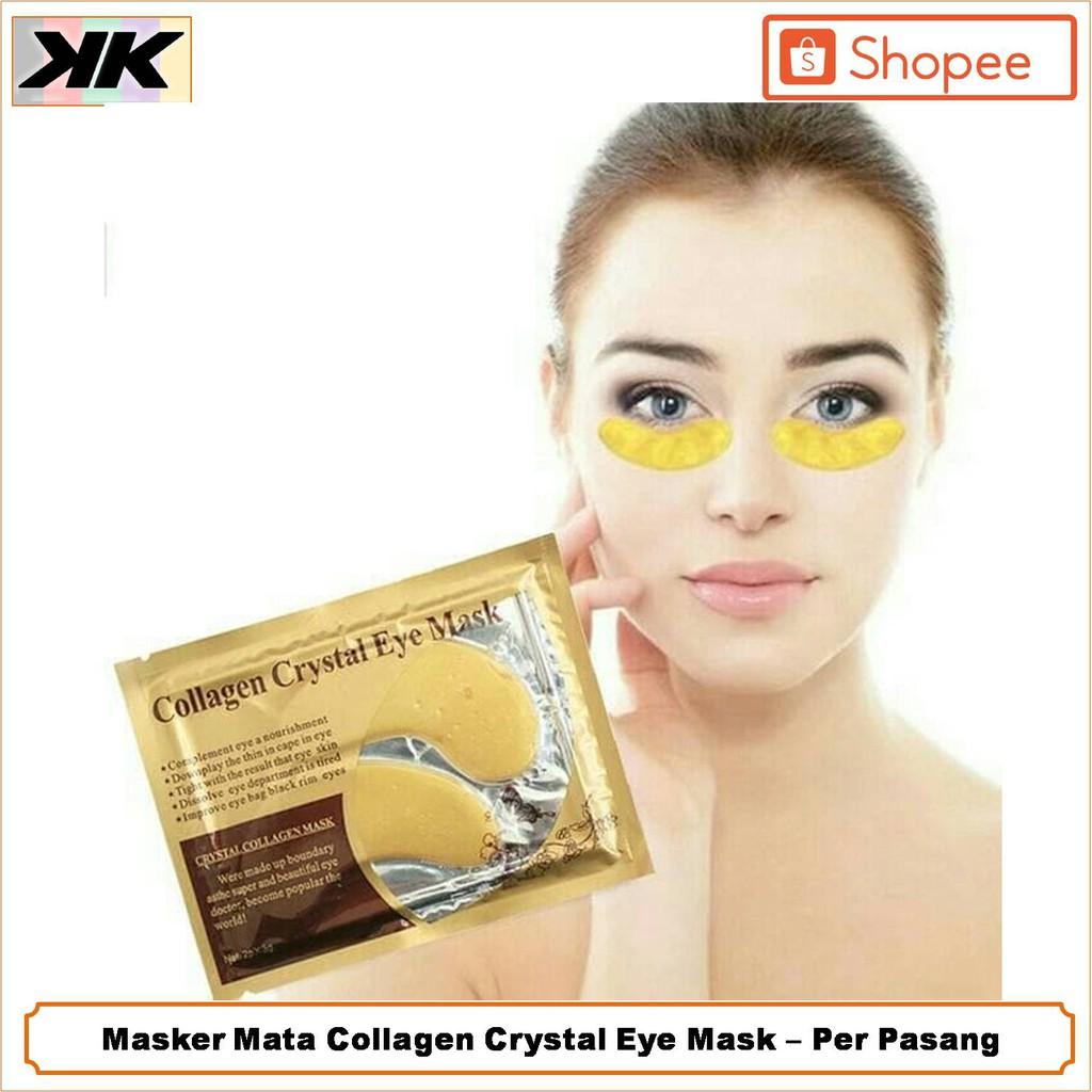 Masker Mata Gold Crystal Collagen Eye Mask ...