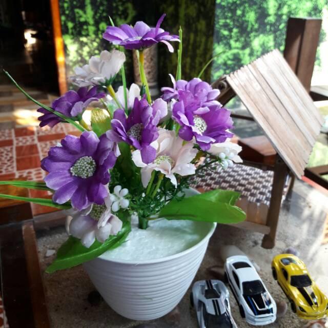 Banting Harga Bunga Hias Plastik Mini Bunga Hias Plastik Murah Shopee Indonesia