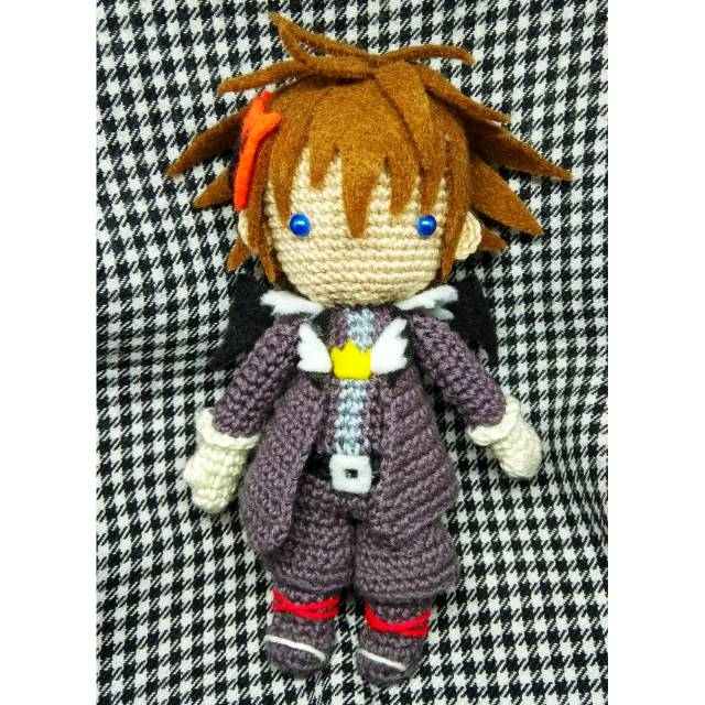 Ravelry: Red Nocturne Amigurumi (Kingdom Hearts) pattern by Casey ... | 640x640