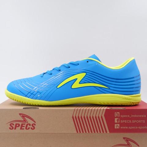 65dc80316965 Sepatu Futsal Specs Accelerator Elevation 19 IN Ultra Blue Yellow 400898  Original