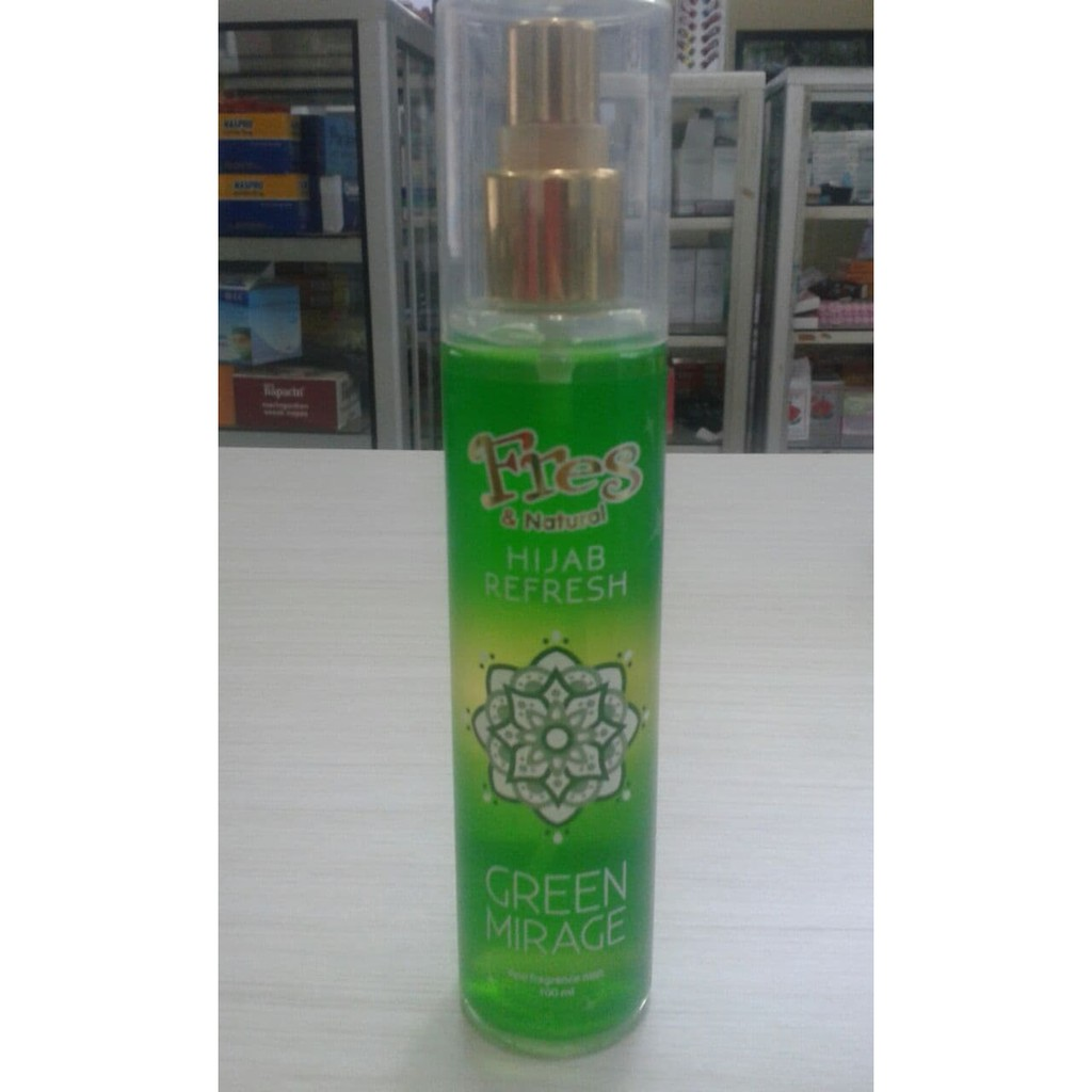 Fres Natural Hijab Refresh Desert Queen Shopee Indonesia