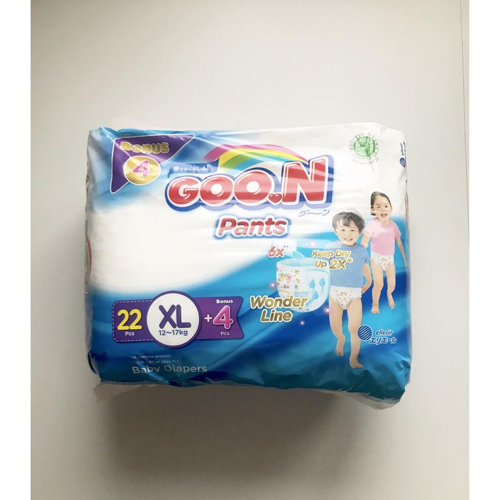 Goon Premium Excellent Soft Pant Pants Popok Celana Xl22 Xl 22 M32 M Xl44 Bonus 4pcs 32 L26 L 26 Xxl19 Xxl 19 Shopee Indonesia